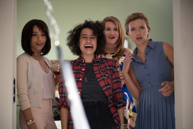 Rough-Night-movie-review-Zoe-Kravitz-Ilana-Glazer-Jillian-Bell-and-Scarlett-Johansson