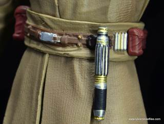 SH Figuarts Mace Windu figure review - belt front 1