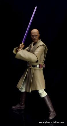 SH Figuarts Mace Windu figure review - ready for battle