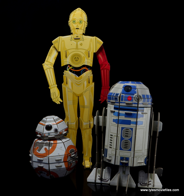 Star Wars Builders Droids set -BB-8, C3P0 and R2D2