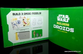 Star Wars Builders Droids set -book inner page