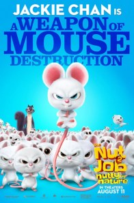 The Nut Job 2 Nutty by Nature character posters - MOUSE_