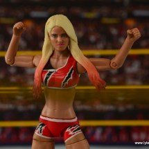 WWE Basic Alexa Bliss figure review - belt pose