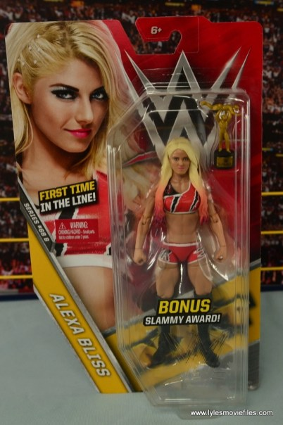 WWE Basic Alexa Bliss figure review - package front