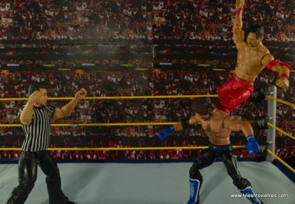 WWE Defining Moments Shinsuke Nakamura figure review -Bomaye to AJ Styles