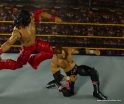 WWE Defining Moments Shinsuke Nakamura figure review -Kinshasa to Sami Zayn