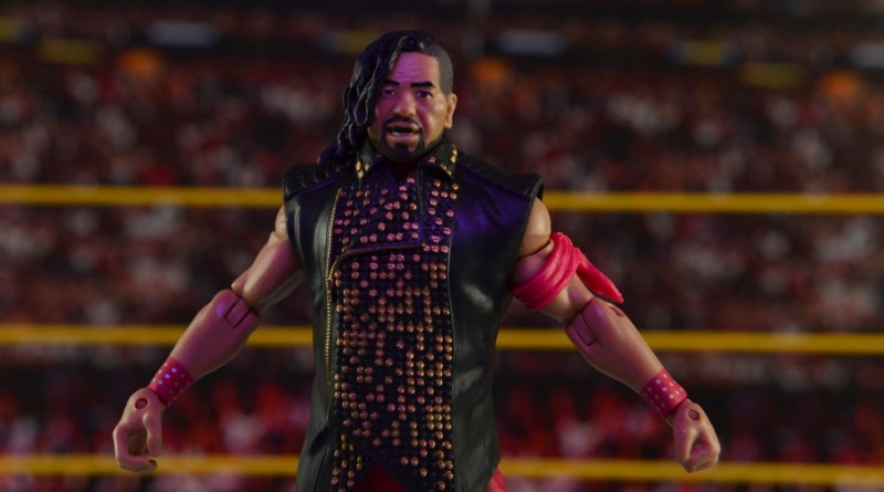 WWE Defining Moments Shinsuke Nakamura figure review -main pic