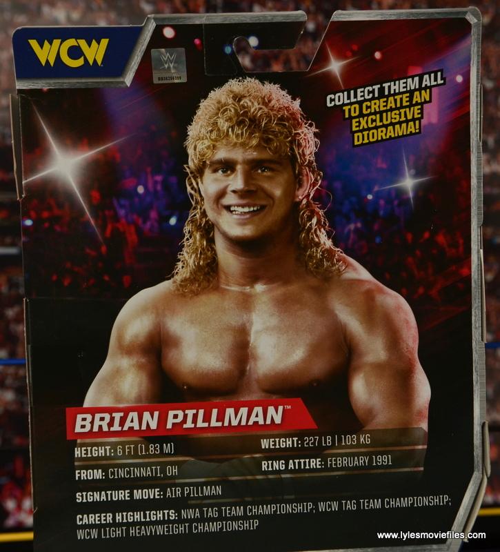 WWE Elite Flyin Brian figure review -bio