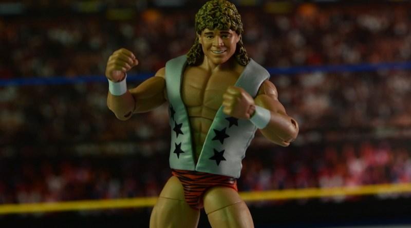WWE Elite Flyin Brian figure review - main pic