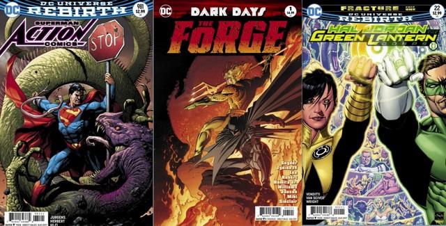 DC Comics reviews for 6/14/17