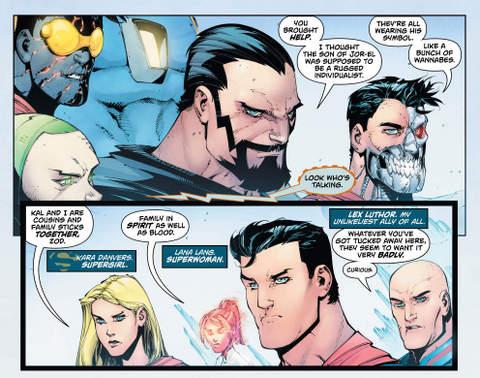 Action Comics #983 interior art