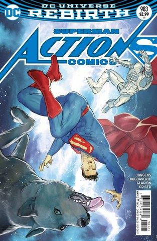 Action Comics #983 variant