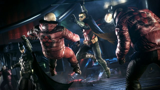 Batman Arkham Knight - Batman and Robin team up