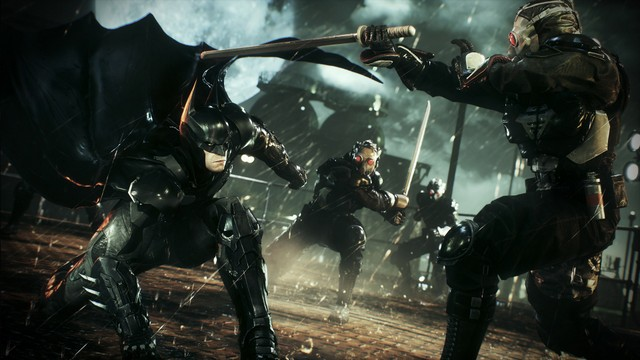 Batman Arkham Knight -Batman in action