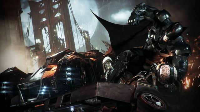 Batman Arkham Knight - Batman vs Firefly