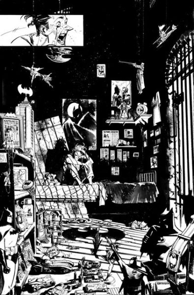 Batman The Joker White Knight interior art 16