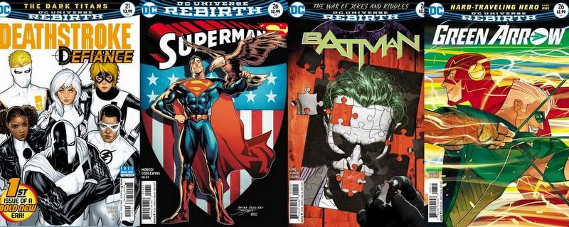 DC Comics 7/5/17