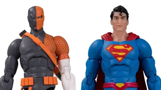 DC Essentials Superman and Deathstroke