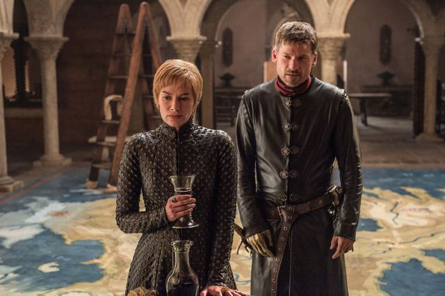Game of Thrones Dragonstone - Cersei and Jaime
