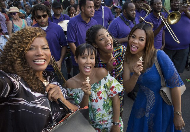Girls Trip-review-Queen-Latifah-Jada-Pinkett-Smith-Tiffany-Haddish-and-Regina-Hall.