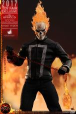 Hot Toys Agents of SHIELD Ghost Rider figure -holding chain