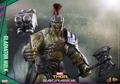 Hot Toys Thor Ragnarok Gladiator Hulk figure -yelling