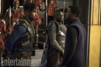 Marvel-Black-Panther-movie-pictures-Killmonger-TChalla-and-WKabi