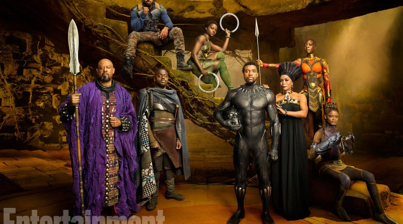 Marvel-Black-Panther-movie-pictures-main-cast