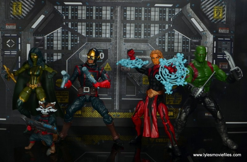 Marvel Legends Adam Warlock figure review - Guardians of the Galaxy ready for battle