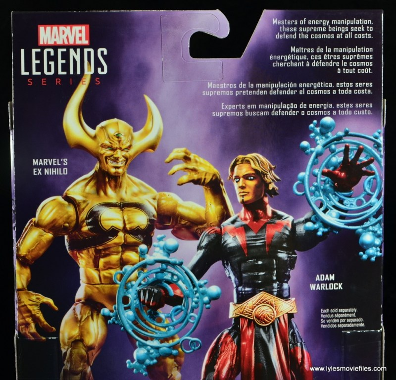 Marvel Legends Adam Warlock figure review - bio