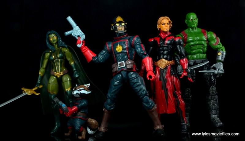Marvel Legends Adam Warlock figure review - main DNA Guardians of the Galaxy