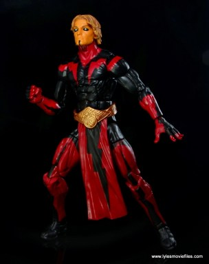 Marvel Legends Adam Warlock figure review - ready to fly