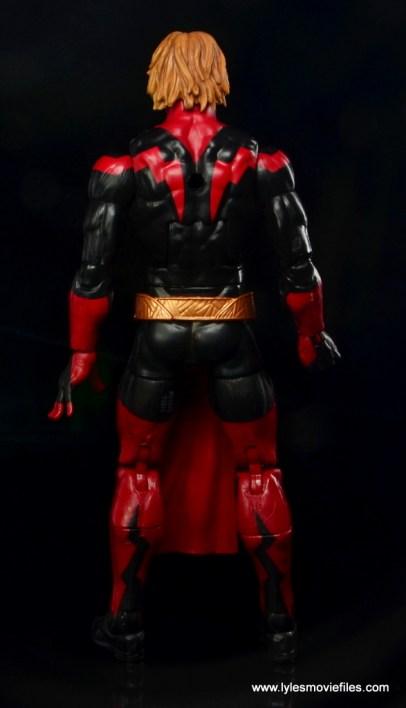 Marvel Legends Adam Warlock figure review - rear