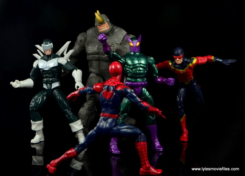 Marvel Legends Beetle figure review - Sinister Syndicate vs Spider-Man