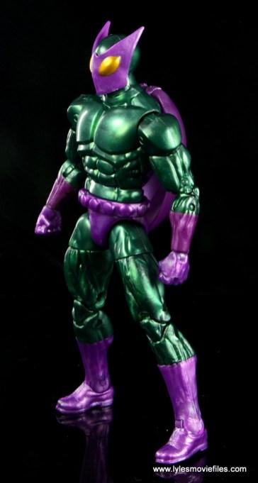 Marvel Legends Beetle figure review -left side