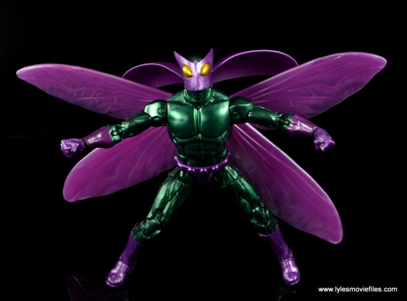 Marvel Legends Beetle figure review -set for takeoff
