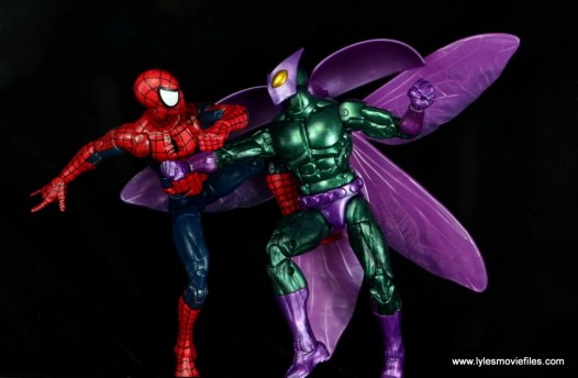 Marvel Legends Beetle figure review -vs Spider-Man