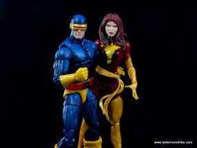 Marvel Legends Cyclops and Dark Phoenix figure review - Cyclops and Dark Phoenix