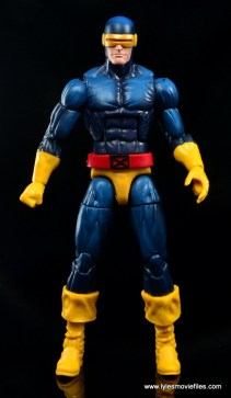 Marvel Legends Cyclops and Dark Phoenix figure review -Cyclops front