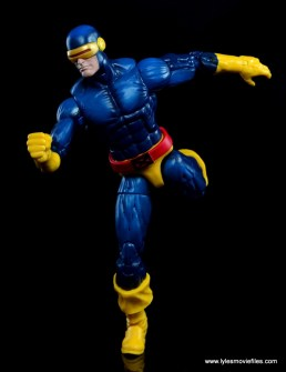 Marvel Legends Cyclops and Dark Phoenix figure review -Cyclops running