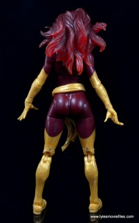 Marvel Legends Cyclops and Dark Phoenix figure review - Dark Phoenix rear