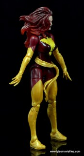 Marvel Legends Cyclops and Dark Phoenix figure review -Dark Phoenix right side