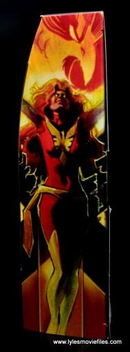 Marvel Legends Cyclops and Dark Phoenix figure review -package side