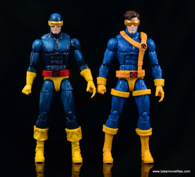 Marvel Legends Cyclops and Dark Phoenix figure review -with Jim Lee Cyclops