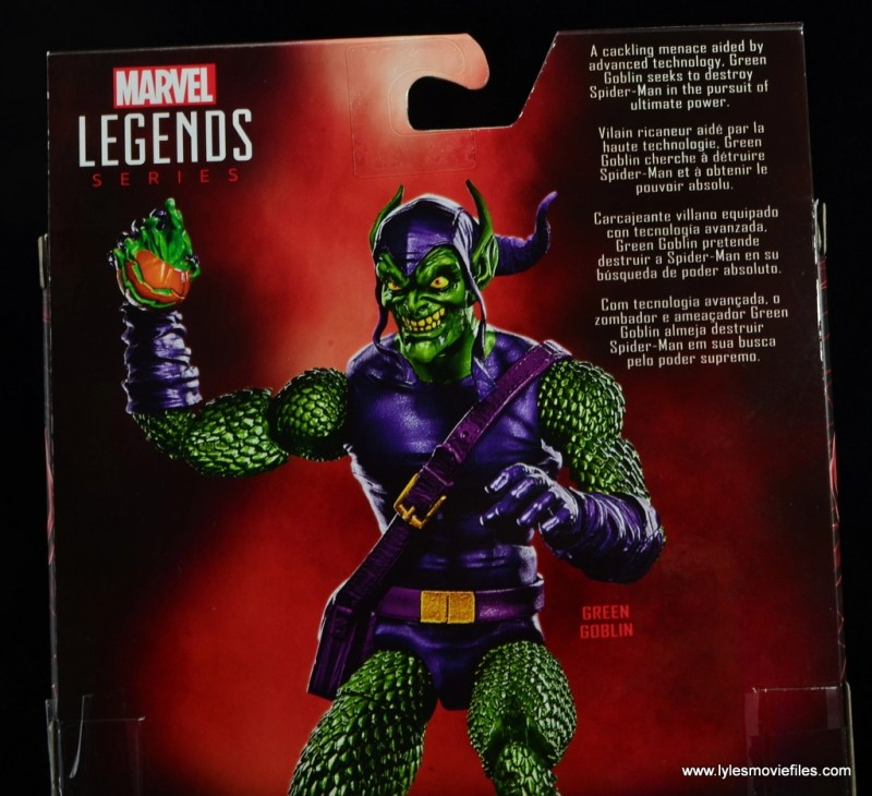 Marvel Legends Green Goblin figure review -bio