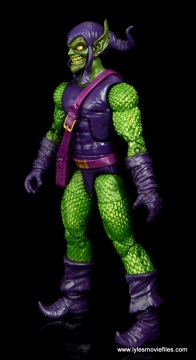 Marvel Legends Green Goblin figure review -left side
