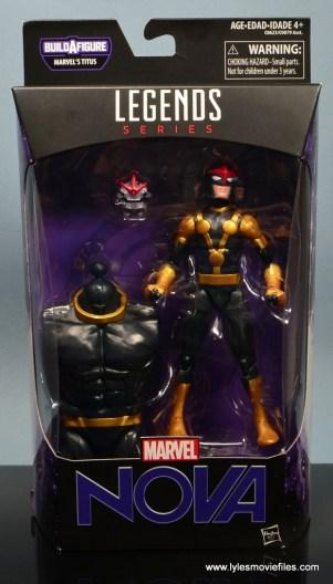 Marvel Legends Kid Nova figure review -package front