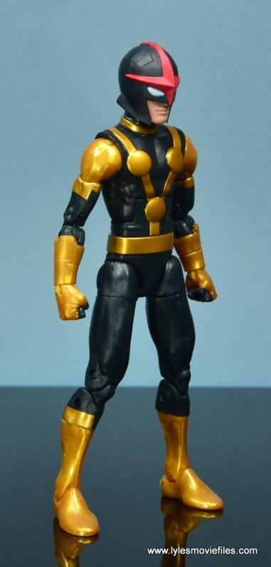 Marvel Legends Kid Nova figure review -right side