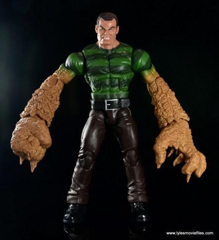 Marvel Legends Sandman figure review -front