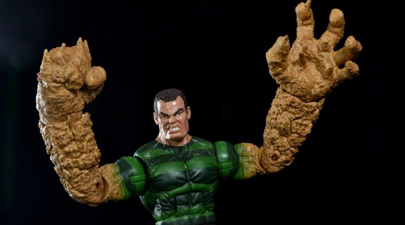 Marvel Legends Sandman figure review - main